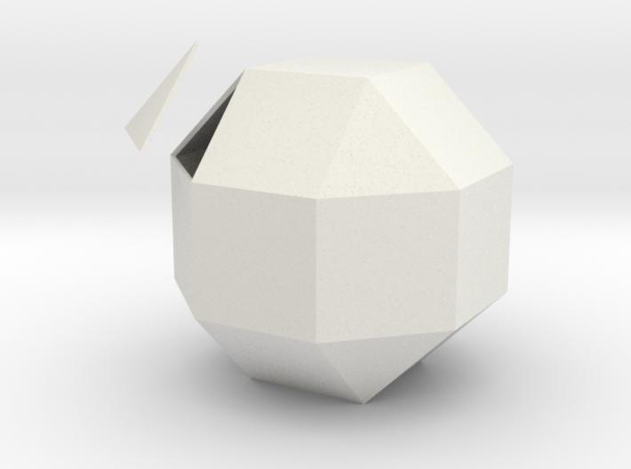 Vigintisex Basium Planus Solida 3d printed