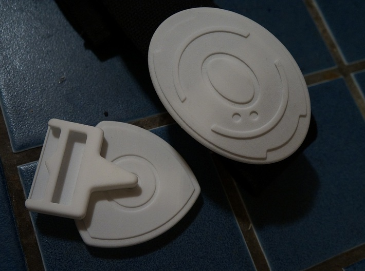 Tali Belt Buckle Set 3d printed WSF - READ BELOW