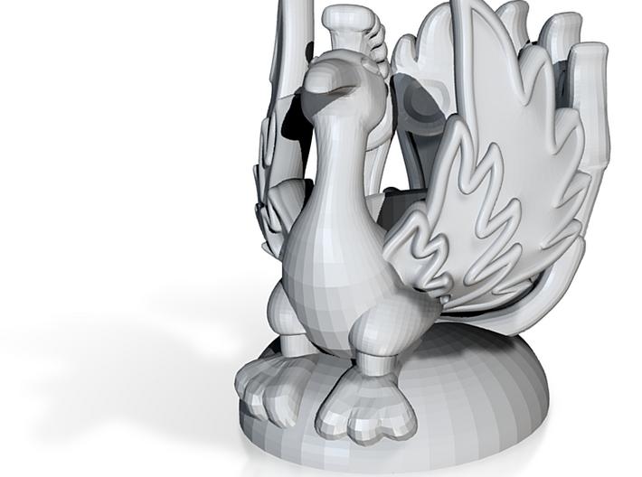 PhoenixCandleholder03 3d printed