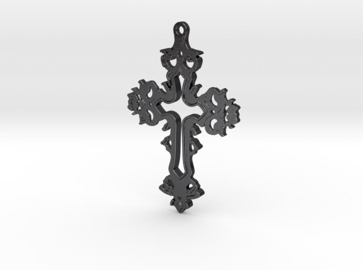 Dracula Untold Cross 3d printed