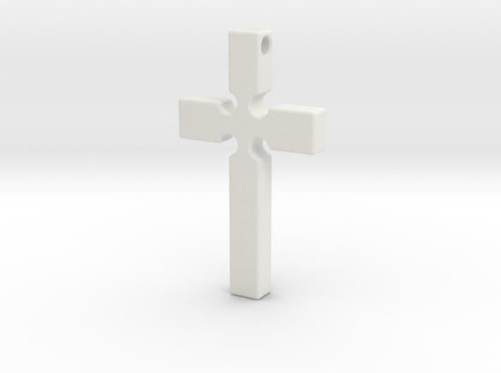 Monroe Cross 3d printed