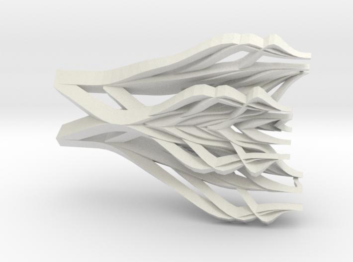 Pylora Pendant 3d printed