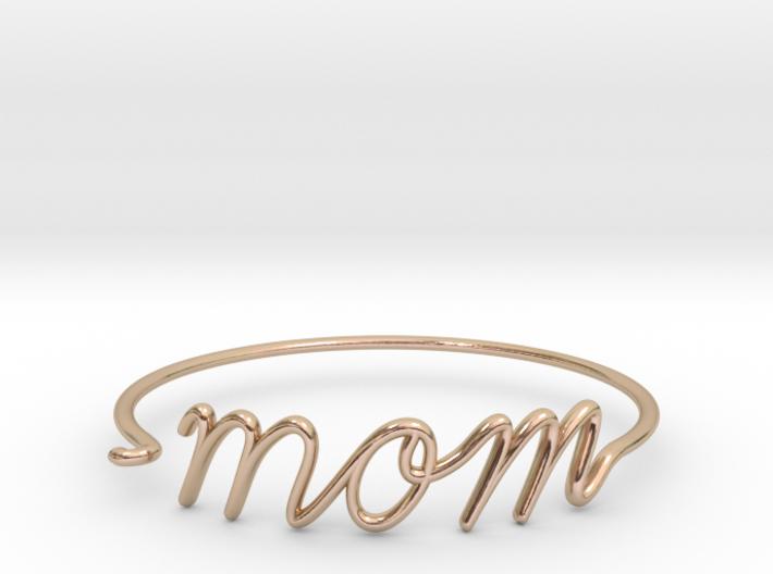 Mom Wire Bracelet 3d printed