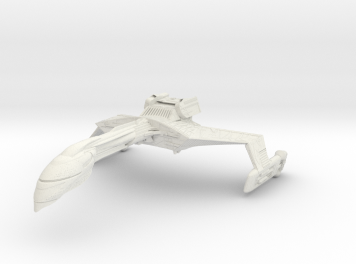 Romulan Wildfire Refit A 3d printed