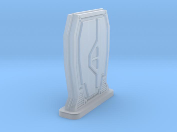 Rebel Freestanding Sci-FI Door 3d printed