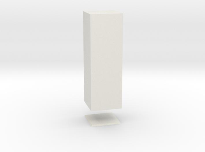 Columna Laterata Quadrangula Solida 3d printed