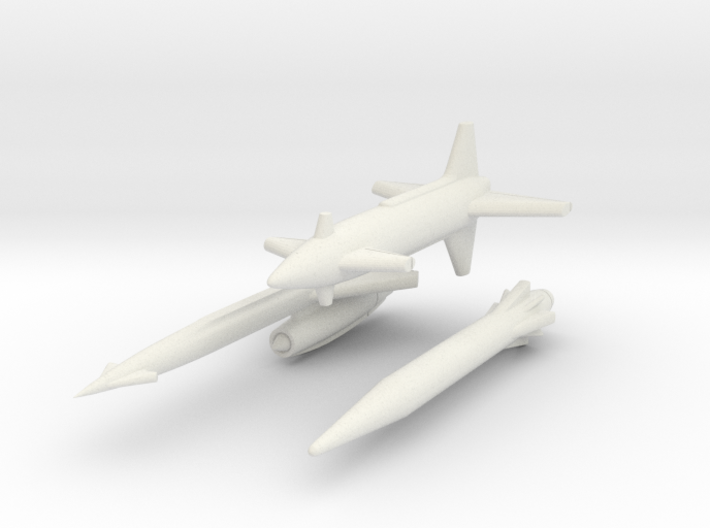 Rascal, Hound Dog, Skybolt missiles 1/285 6mm 3d printed