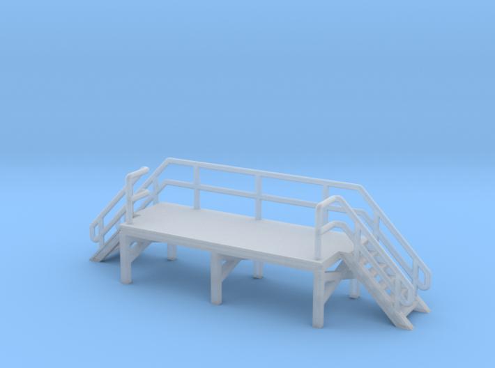N Scale Train Crew Platform 3d printed