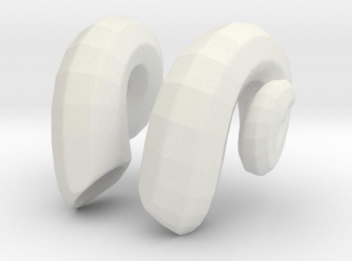 Ram Horns: SD 1/3 bjd doll mini 3d printed