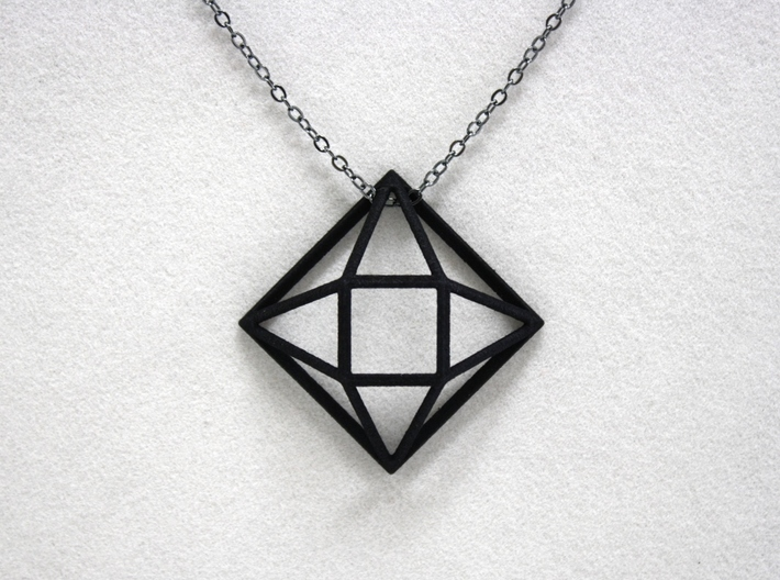 Faceted Square 3d printed