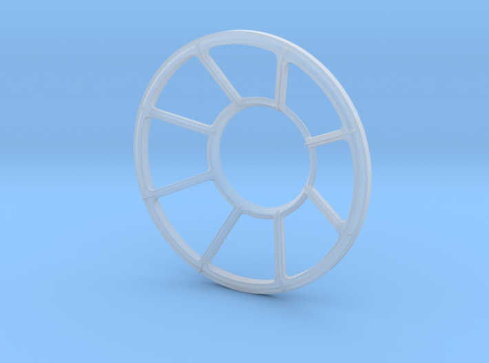 Millennium Falcon Turret Window DeAg Studio Scale 3d printed