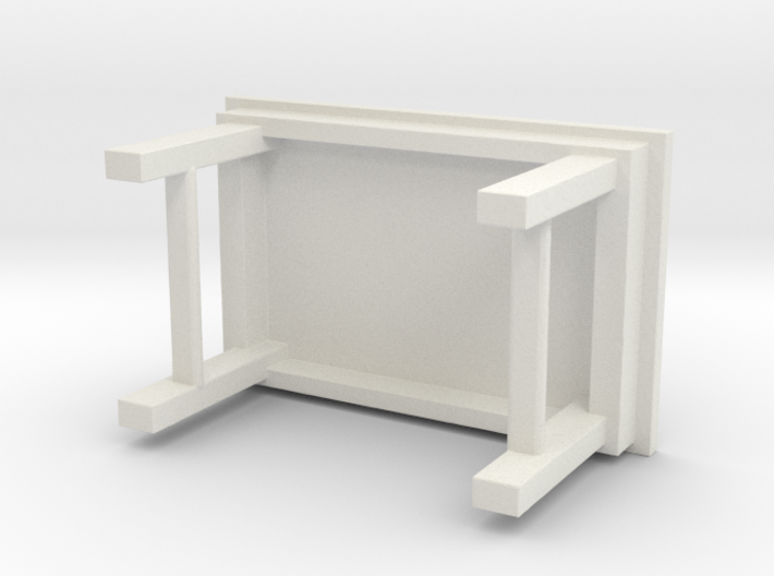 1/64 simple work bench 3d printed