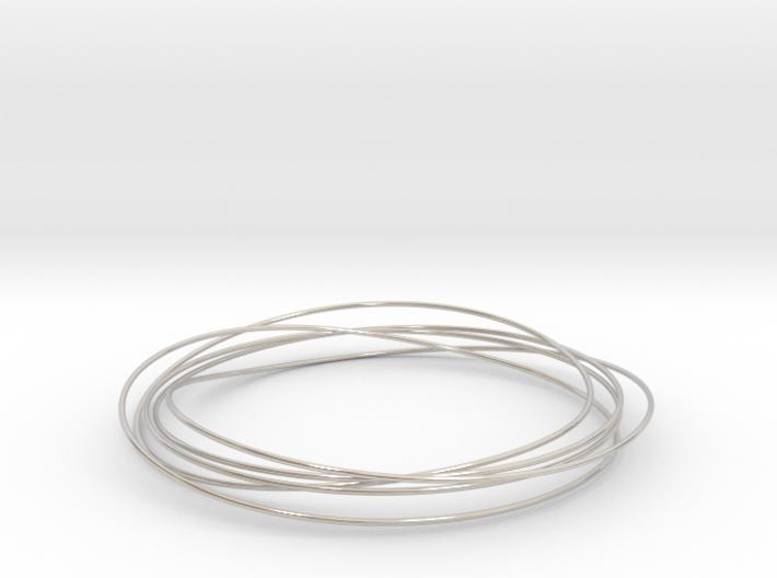 Mobius Wire Bracelet 3d printed