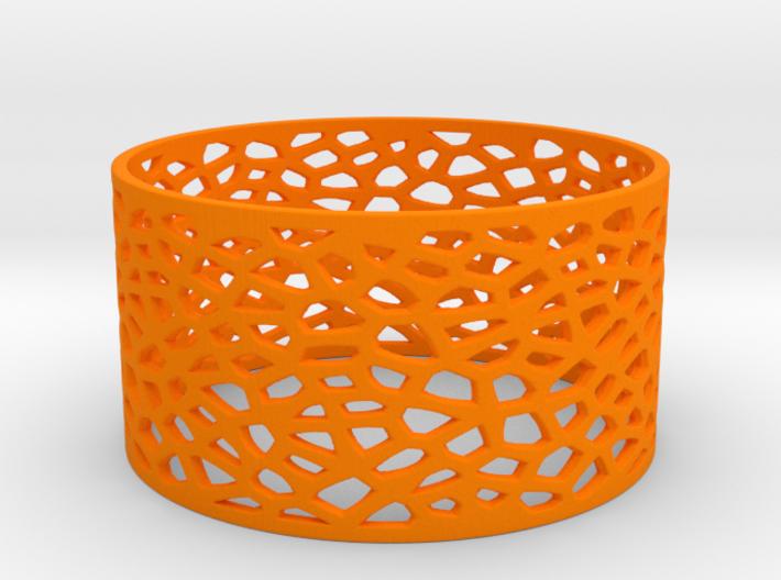 Voronoi Bracelet 78mm 3d printed