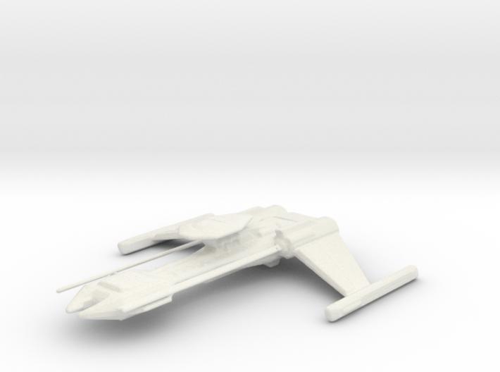 Klingon Destroyer 3d printed
