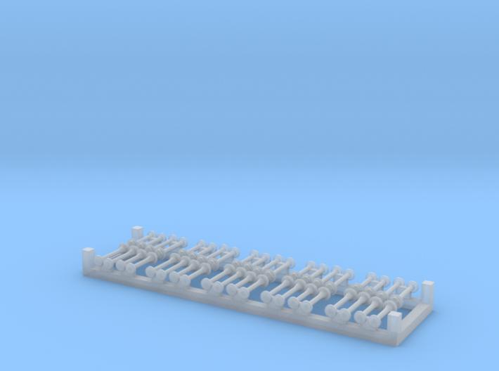 10xMartin-Horn mit Schutzkappe 3d printed