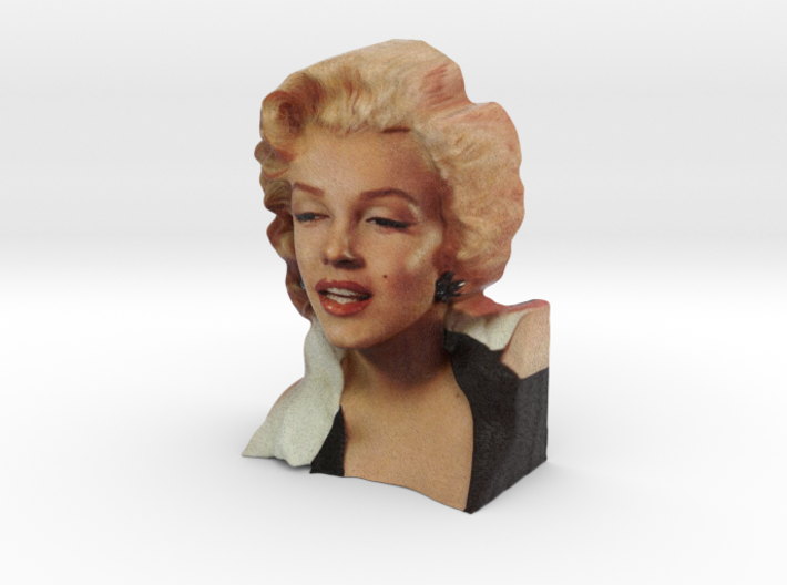 Marilyn Monroe madame Tussauds Life Size Bust (31, 3d printed