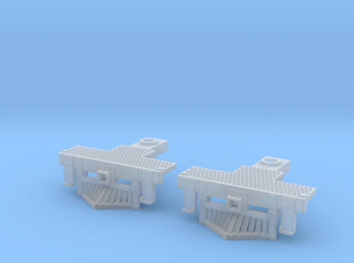 2 N Scale Atlas 4-6-2 Pilots (No Couplings) 3d printed