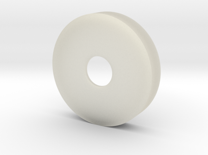 35 mm Petri Dish With 10 mm Hole 3d printed