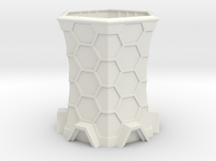 Sci-Fi Cooling Tower 3d printed
