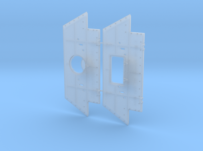 T-34 Set Armor Plates from Factory 112 1/35 3d printed