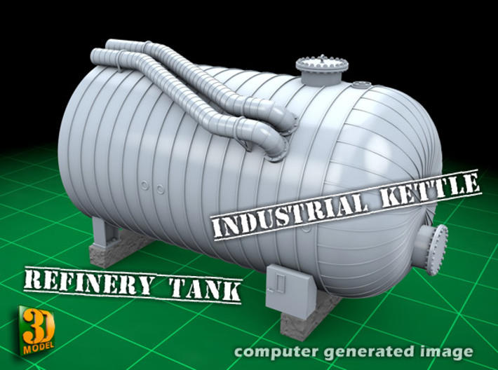 Industrial Kettle 1/35 3d printed