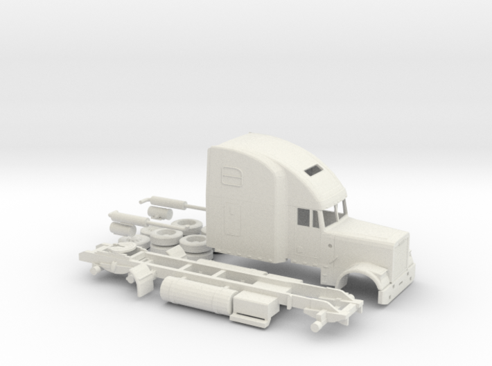 1/87 Freightliner Classic XL 3d printed