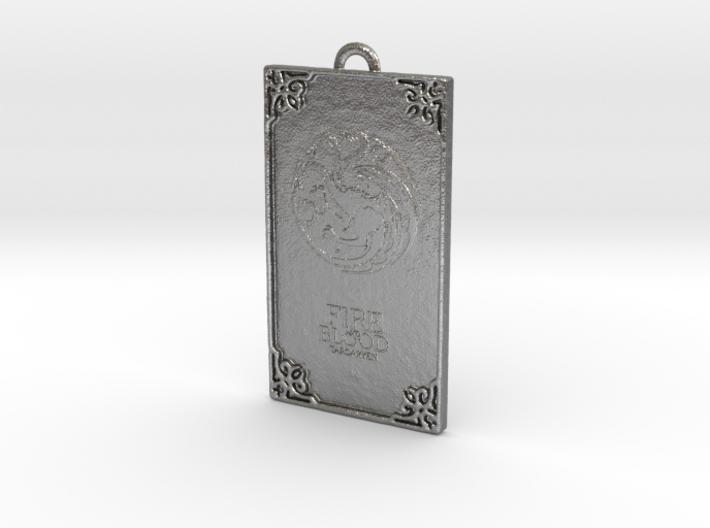 Game of Thrones - Targaryen Pendant 3d printed
