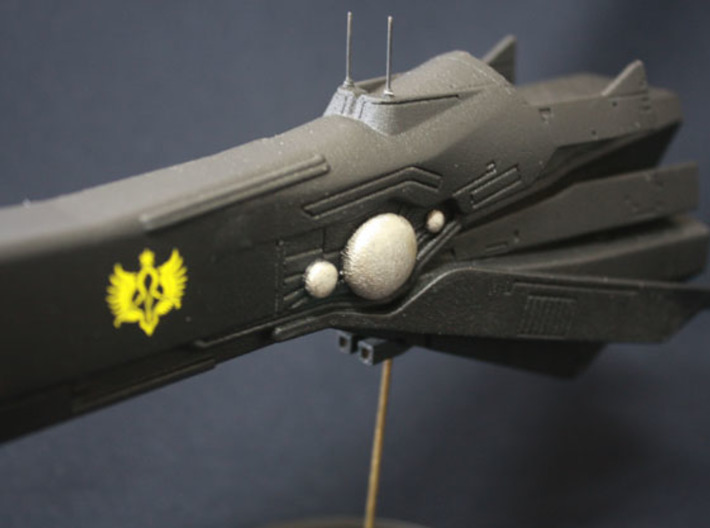 LoGH Imperial Fast Battleship 1:3000 (Part 2/2) 3d printed Photo