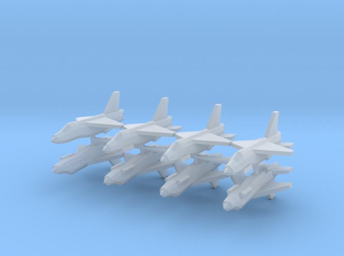 [Galaxia] Lancer F5 Squadron 3d printed
