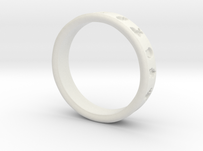 PokemonRing - Size 9 Test 3d printed