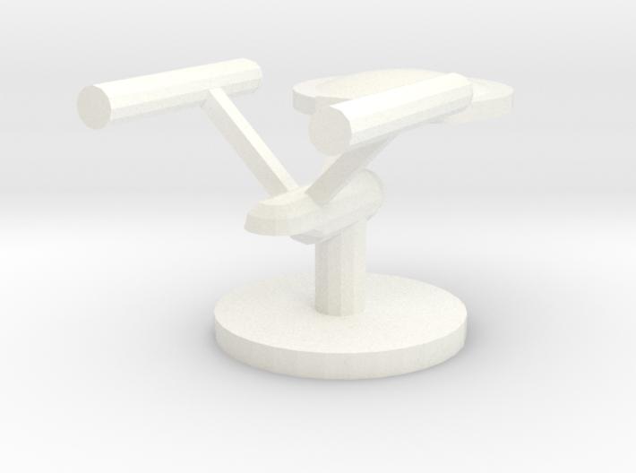 Starship Token 3d printed