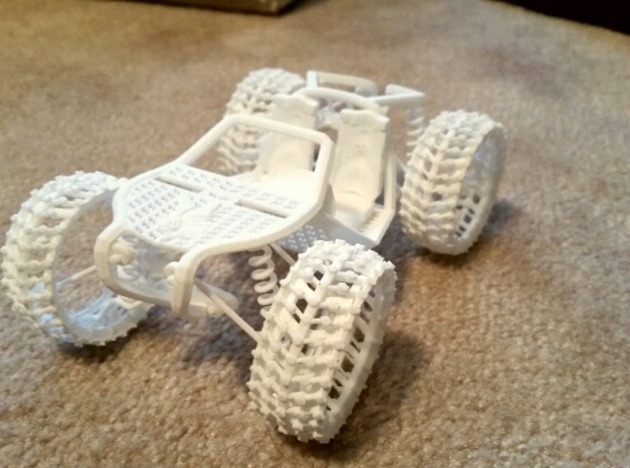 Super Buggy Concept 3d printed