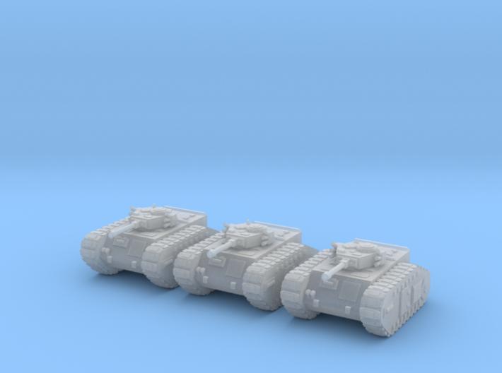 6mm Dieselpunk Mk.A APC (3) 3d printed