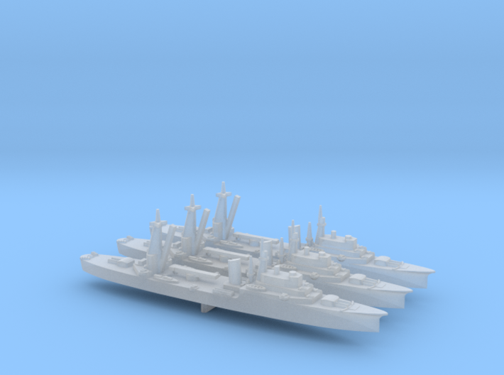 IJN Training Cruiser Katori Class 1/2400 3d printed