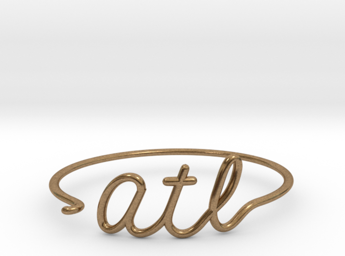 ATL Wire Bracelet (Atlanta) 3d printed