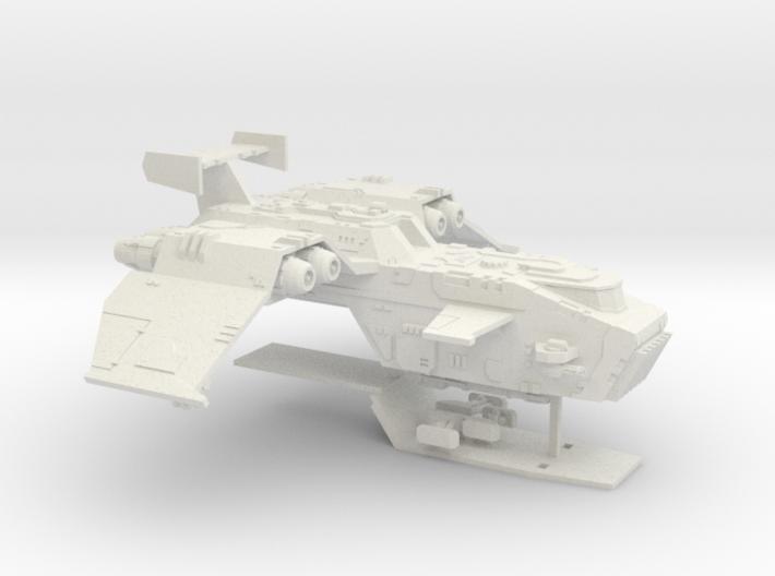 6mm ThunderSquak Gunship 3d printed