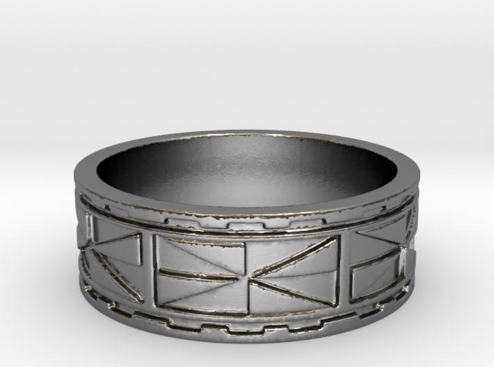 Melini Ring Size 11.75 3d printed