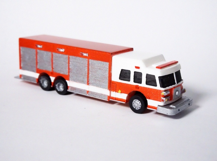 1:160 N Scale Heavy Rescue Truck 3d printed