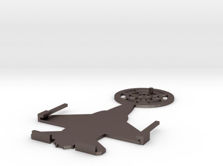 Jet Badge Holder V0.4 3d printed