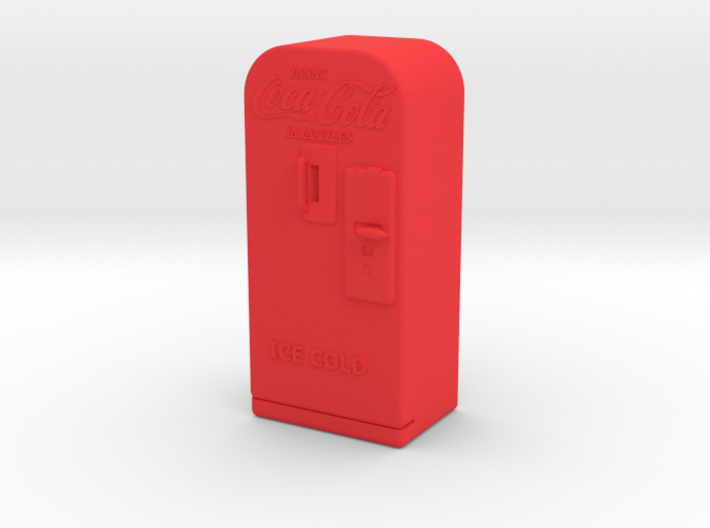 Coke Machine - Qty (1) G 22.5:1 Scale 3d printed