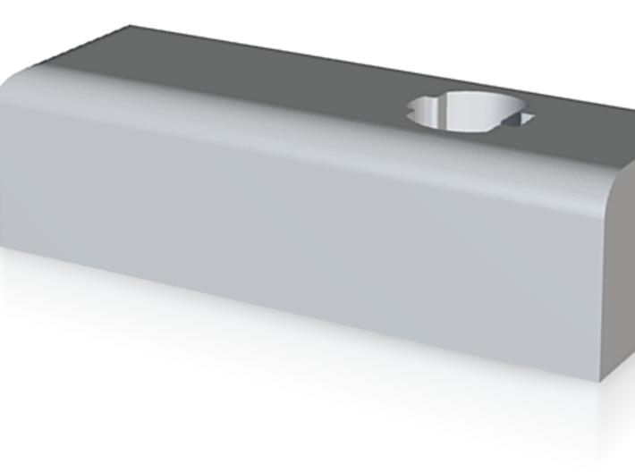 MPH-30 Micro Detent Hinge - Part 1 3d printed