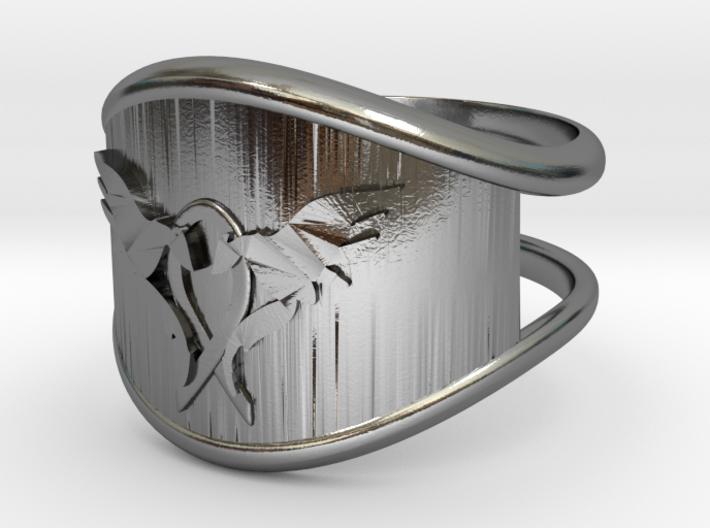 L.O.V.E. Ring size 9 3d printed