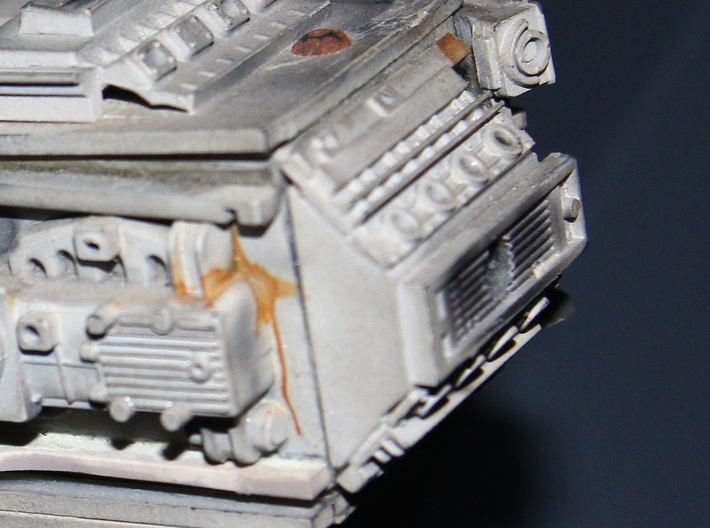 YT1300 HSBRO FRONT MANDIBLES SIDEWALL 3d printed The part on the original 32 inch Falcon.