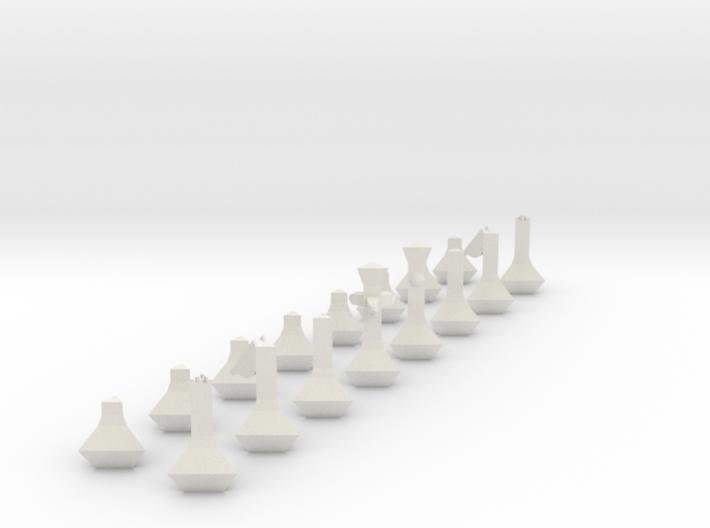 Chess Set 3d printed