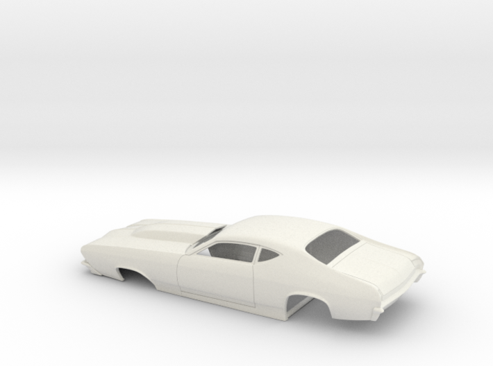 1/16 69 Chevelle Pro Mod One Piece Body 3d printed