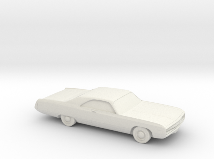 1/87 1970 Chrysler 300 3d printed