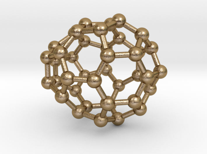 0119 Fullerene C40-13 cs 3d printed