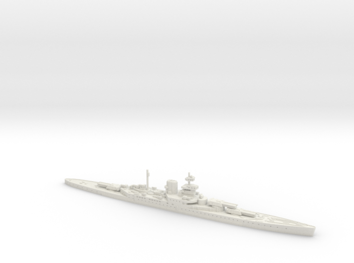 HMS Incomparable 1/2400 3d printed
