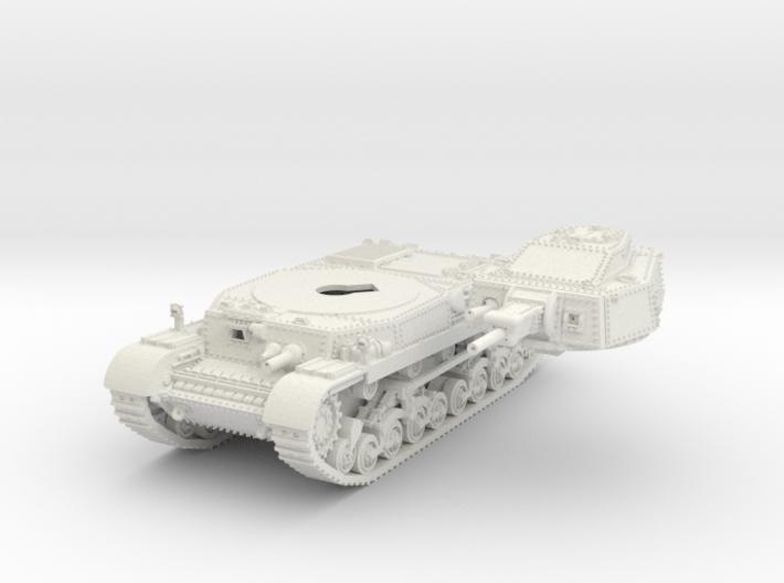 1-87 Hungarian 41M Turan II Basic 3d printed